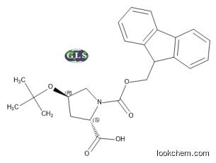 Fmoc-Hyp(tBu)-OH; Fmoc-(2s,4r)-(-)-4-t-butoxypyrrolidine-2-carboxylic acid; MDL#:MFCD00151930