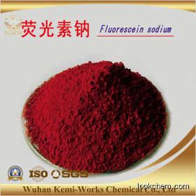 High quality  Fluorescein disodium salt/ Acid Yellow 73 Cas No.518-47-8