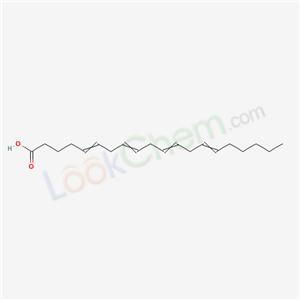 Molecular Structure of 7771-44-0 (5,8,11,14-EICOSATETRAENOIC ACID)