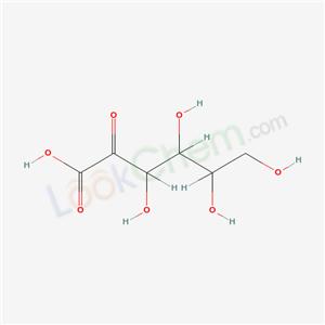 Molecular Structure of 91548-32-2 (3,4,5,6-tetrahydroxy-2-oxo-hexanoic acid)