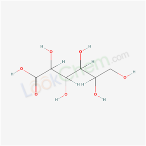 CAS NO:6622-52-2 2,3,4,5,6-pentahydroxyhexanoic acid Molecular Structure