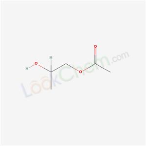 627-69-0,2-Hydroxypropyl acetate,1,2-Propanediol, 1-acetate;Propylene glycol 1-acetate;
