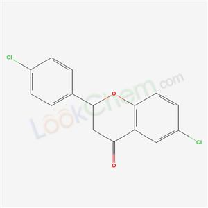 6336-05-6,6-chloro-2-(4-chlorophenyl)chroman-4-one,
