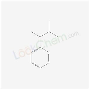 Molecular Structure of 4481-30-5 (3-methylbutan-2-ylbenzene)