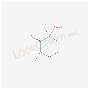 Molecular Structure of 7500-42-7 (Cyclohexanone, 2-hydroxy-2,6,6-trimethyl-)