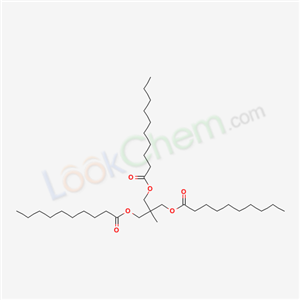 67874-05-9,2-Methyl-2-(((1-oxodecyl)oxy)methyl)-1,3-propanediyl didecanoate,