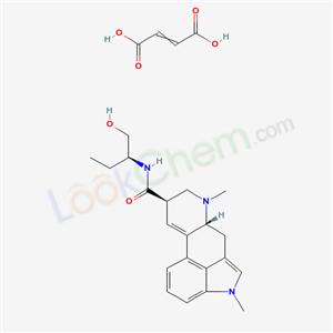Molecular Structure of 129-49-7 (METHYSERGIDE DIMALEATE)