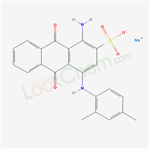 61109-39-5,1-Amino-4-(2,4-dimethylanilino)anthraquinone-2-sulfonic acid sodium salt,