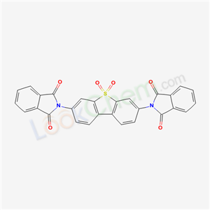 5019-53-4,2-[7-(1,3-dioxoisoindol-2-yl)-5,5-dioxo-dibenzothiophen-3-yl]isoindole-1,3-dione,