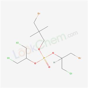 68921-85-7,Phosphoric acid, 2-bromo-1-(chloromethyl)ethyl 3-bromo-2,2-dimethylpropyl 2-chloro-1-(chloromethyl)ethyl ester,