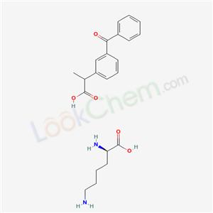 Molecular Structure of 57469-78-0 (Lysyl-ketoprofen)