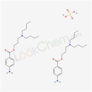 Molecular Structure of 149-15-5 (BUTACAINE SULFATE)