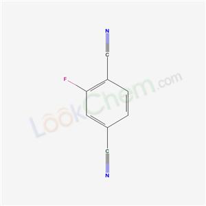 Molecular Structure of 1897-53-6 (2-Fluoro-1,4-benzenedicarbonitrile)