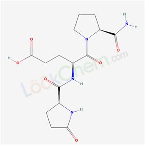 Molecular Structure of 85541-78-2 (Glp-glu-pronh2)
