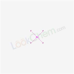 Molecular Structure of 13709-61-0 (XENON TETRAFLUORIDE)