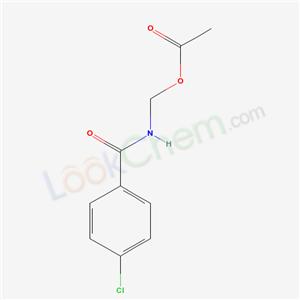103369-09-1,[(4-chlorobenzoyl)amino]methyl acetate,N-(acetoxymethyl)-4-chlorobenzamide