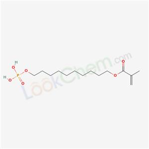 Molecular Structure of 85590-00-7 (12-Methacryloyldodeylphosphate)