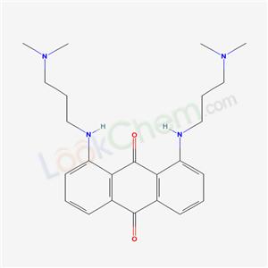 70711-39-6,1,8-bis(3-dimethylaminopropylamino)anthracene-9,10-dione,