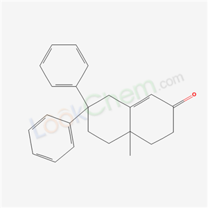 50786-03-3,4a-methyl-7,7-diphenyl-4,5,6,8-tetrahydro-3H-naphthalen-2-one,