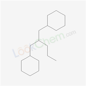 55030-21-2,2-(cyclohexylmethyl)pentylcyclohexane,