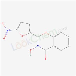 98754-80-4,8-hydroxy-9-(5-nitro-2-furyl)-10-oxa-8-azabicyclo[4.4.0]deca-1,3,5-trien-7-one,