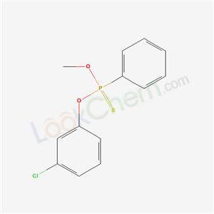 71432-17-2,Phenylphosphonothioic acid O-(3-chlorophenyl) O-methyl ester,