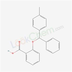 72417-80-2,2-[(4-methylphenyl)-phenyl-methoxy]benzoic acid,