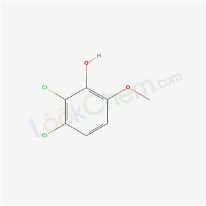 77102-95-5,2,3-dichloro-6-methoxy-phenol,