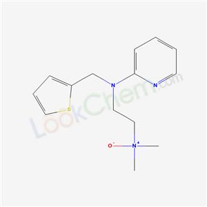 78761-79-2,1,2-Ethanediamine, N,N-dimethyl-N-2-pyridinyl-N-(2-thienylmethyl)-,N-oxide,