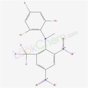84529-55-5,2,6-dibromo-N-[2,4-dinitro-6-(trifluoromethyl)phenyl]-4-fluoro-N-methyl-aniline,