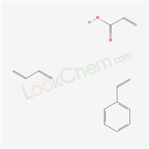 Ethenylbenzene, 1,3-butadiene, 2-propenoic acid polymer