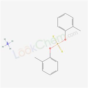 52994-01-1,azanium bis(2-methylphenoxy)-sulfanylidene-sulfido-phosphorane,