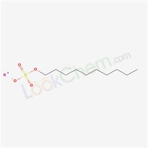 7739-63-1,Potassium decyl sulphate,