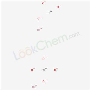 Molecular Structure of 12048-51-0 (BISMUTH TITANIUM OXIDE)