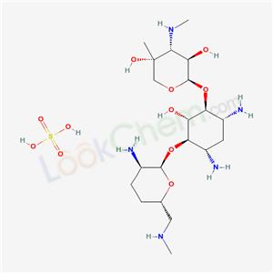 Molecular Structure of 66803-19-8 (Micronomycin sulfate)