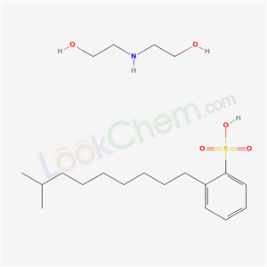67889-95-6,2-(2-hydroxyethylamino)ethanol; 2-(8-methylnonyl)benzenesulfonic acid,