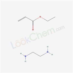 68891-42-9,ethane-1,2-diamine; ethyl prop-2-enoate,2-Propenoic acid, ethyl ester, polymer with methylated ethylenediamine