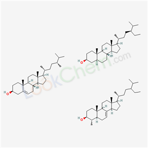 Molecular Structure of 68955-15-7 (Tall sterols phytosterols)