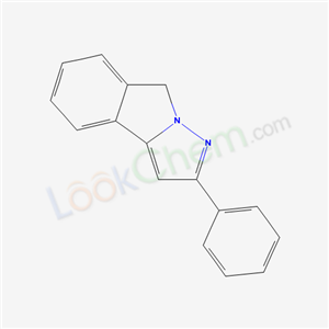 61001-42-1,2-PHENYL-8H-PYRAZOLO(5,1-a)ISOINDOLE,