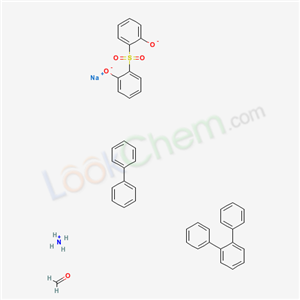 96591-23-0,Formaldehyde, polymers with sulfonated 1,1-biphenyl, sulfonated terphenyl and sulfonylbis(phenol), ammonium sodium salts,Formaldehyde, polymers with sulfonated 1,1'-biphenyl, sulfonated terphenyl and sulfonylbis[phenol], ammonium sodium salts