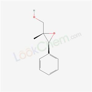 Molecular Structure of 107033-44-3 ((2S,3S)-(-)-2-Methyl-3-phenylglycidol)