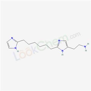 98890-43-8,2-[2-[6-(1H-imidazol-2-yl)hexyl]-3H-imidazol-4-yl]ethanamine,
