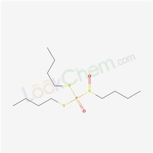 141931-22-8,1-(butylsulfanyl-butylsulfinyl-phosphoryl)sulfanylbutane,