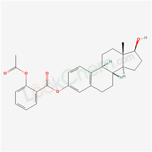 111111-98-9,[(8S,9S,13S,14S,17S)-17-hydroxy-13-methyl-6,7,8,9,11,12,14,15,16,17-decahydrocyclopenta[a]phenanthren-3-yl] 2-acetyloxybenzoate,