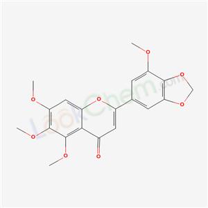 89029-10-7,5,6,7-trimethoxy-2-(7-methoxybenzo[1,3]dioxol-5-yl)chromen-4-one,