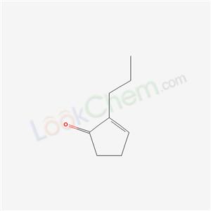 Molecular Structure of 24105-07-5 (2-Propylcyclopent-2-en-1-one)