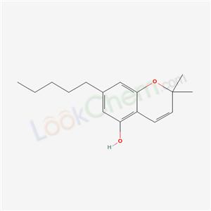 56157-26-7,2,2-dimethyl-7-pentyl-chromen-5-ol,