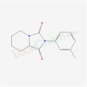 60725-65-7,8-(3-methylphenyl)-1,8-diazabicyclo[4.3.0]nonane-7,9-dione,
