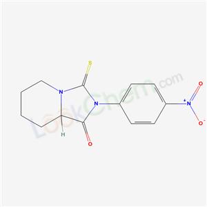 60726-00-3,8-(4-nitrophenyl)-9-sulfanylidene-1,8-diazabicyclo[4.3.0]nonan-7-one,