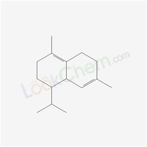 483-76-1,1,6-dimethyl-4-propan-2-yl-2,3,4,4a,7,8-hexahydronaphthalene,